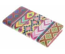 Design TPU booktype hoes Sony Xperia Z1