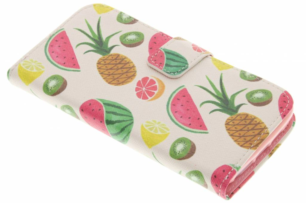 Fruit design TPU booktype hoes voor de LG G2