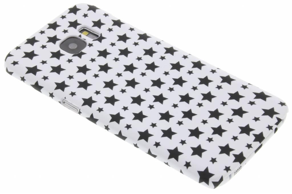Wit sterren design hardcase hoesje voor de Samsung Galaxy S7 Edge