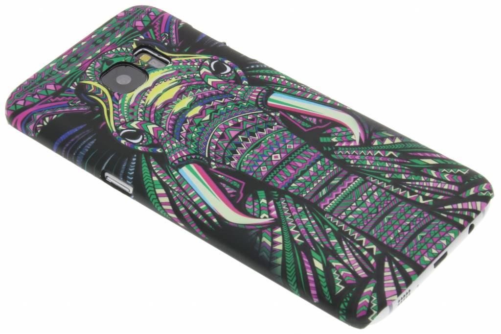 Olifant aztec animal design hardcase hoesje voor de Samsung Galaxy S7 Edge