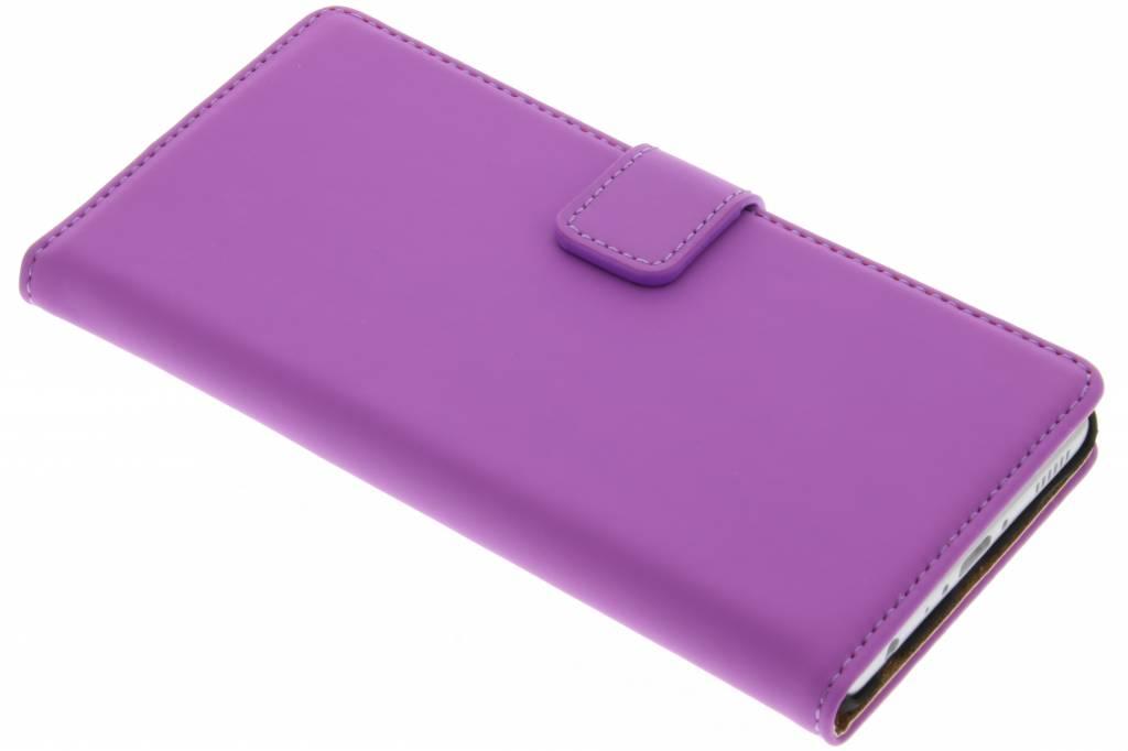 Selencia Luxe Book Case voor de Huawei P9 - Paars