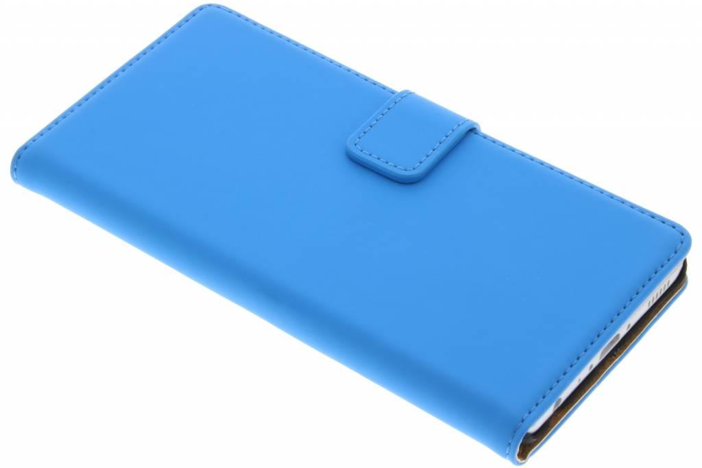 Selencia Luxe Book Case voor de Huawei P9 - Blauw