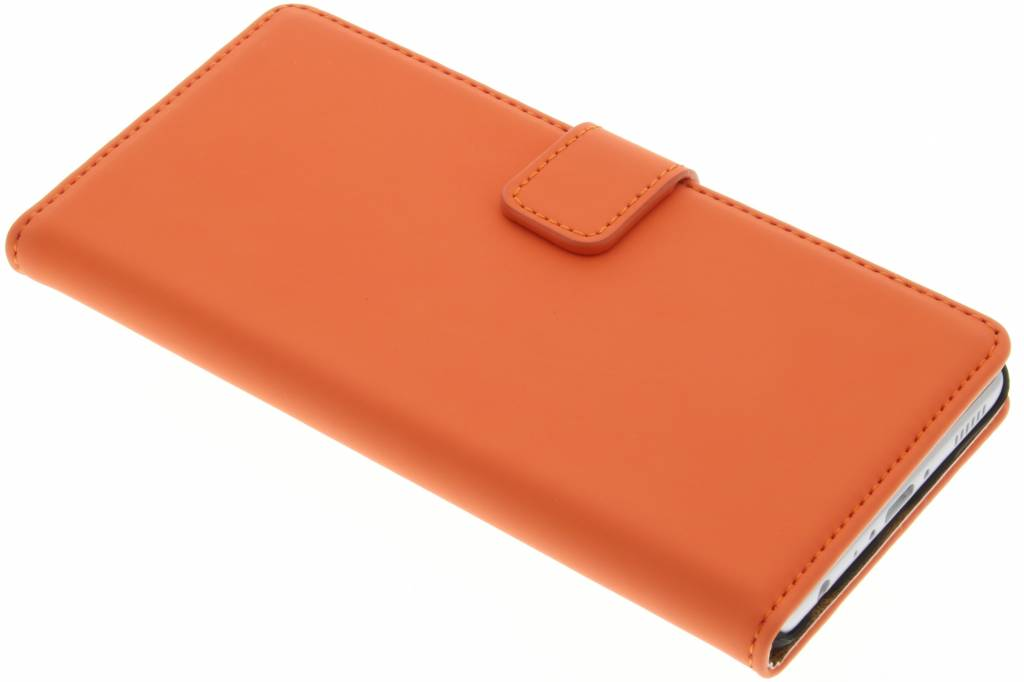 Selencia Luxe Book Case voor de Huawei P9 - Oranje