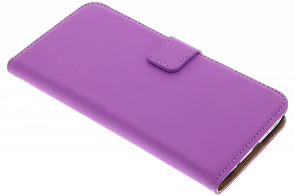 Selencia Luxe Book Case voor de Samsung Galaxy S7 Edge - Paars