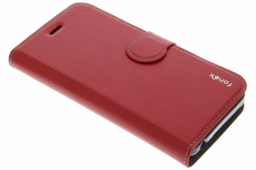 Fonex Identity Bookcase voor de Huawei Y5 - Rood