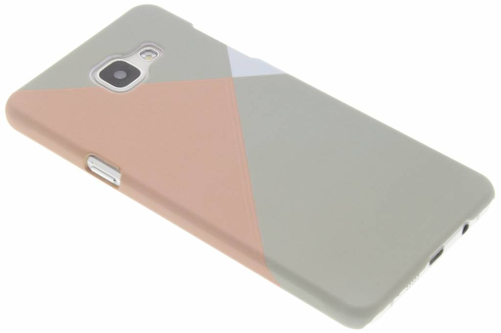 Pastelkleurige vlakken design hardcase hoesje voor de Samsung Galaxy A5 (2016)