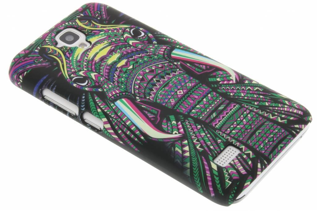Olifant aztec animal design hardcase hoesje voor de Huawei Y5