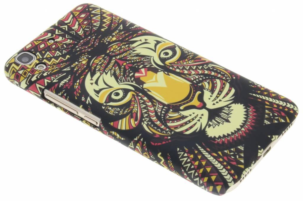 Tijger aztec animal design hardcase voor de Huawei Y6