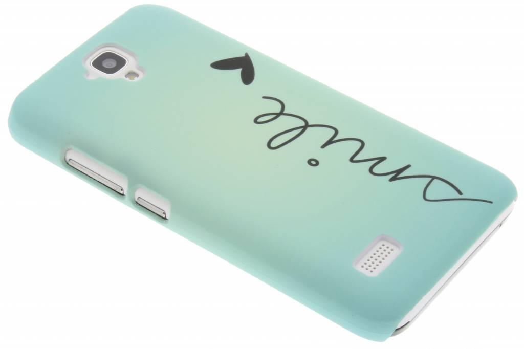 Smile design hardcase hoesje voor de Huawei Y5