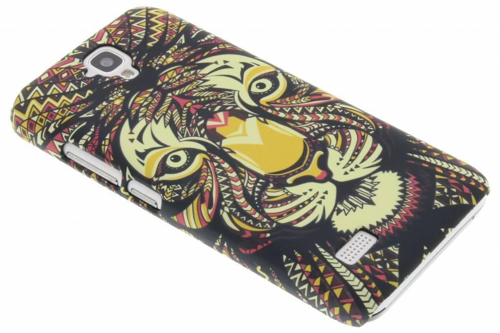 Tijger aztec animal design hardcase hoesje voor de Huawei Y5