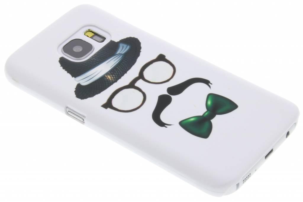 Snor design hardcase hoesje voor de Samsung Galaxy S7