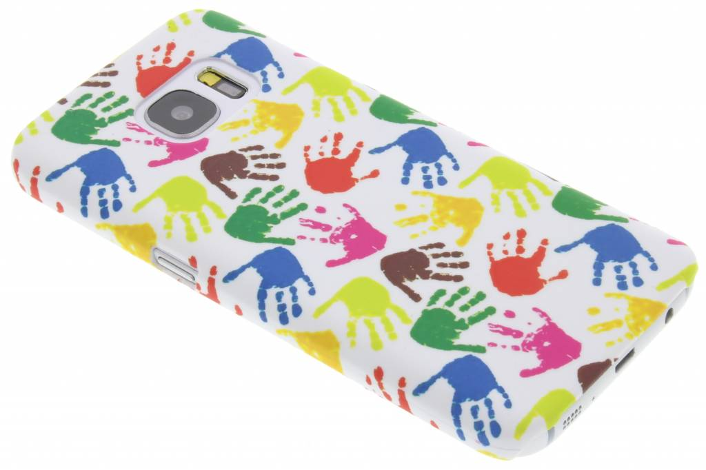 Handen design hardcase hoesje voor de Samsung Galaxy S7