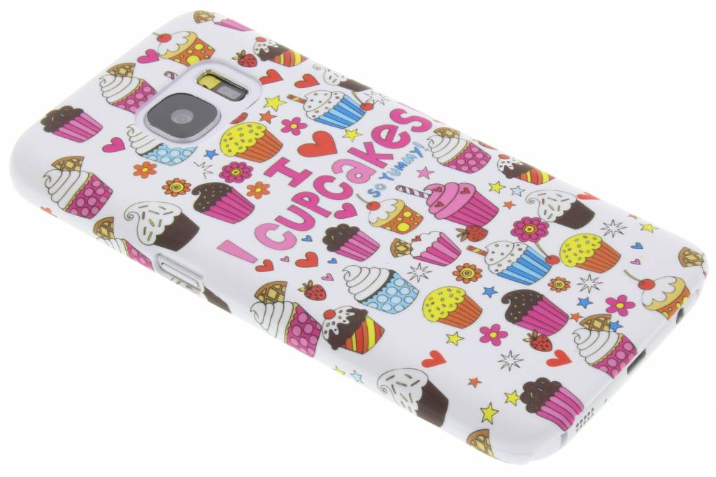 Cupcakes design hardcase hoesje voor de Samsung Galaxy S7