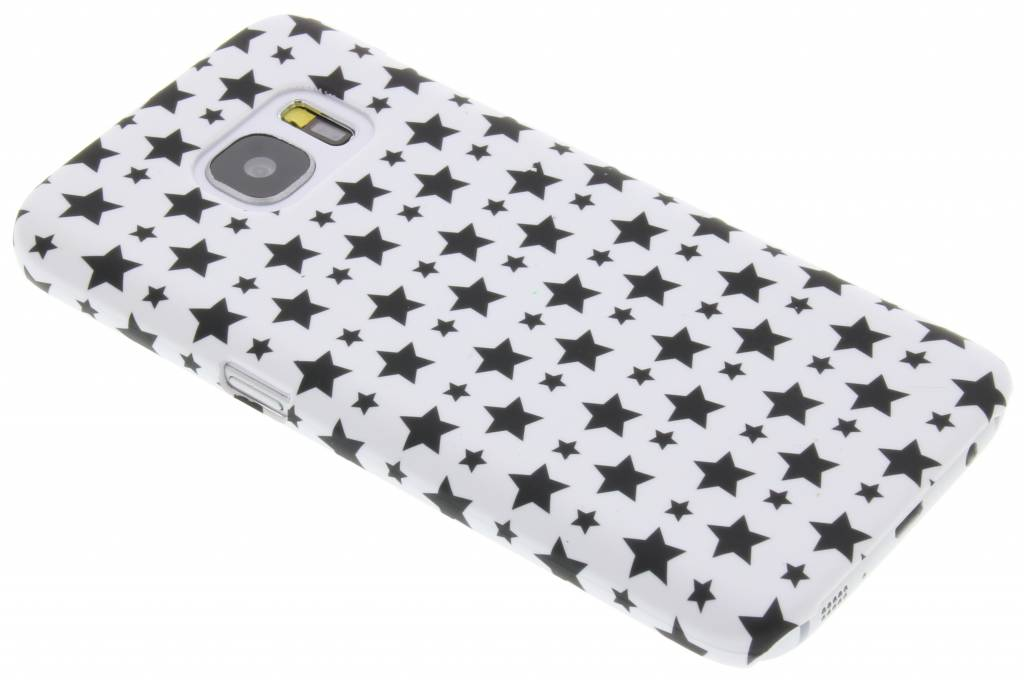 Wit sterren design hardcase hoesje voor de Samsung Galaxy S7