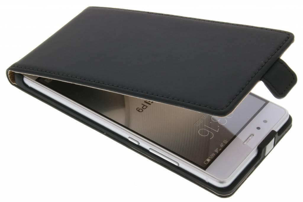 Selencia Luxe Flipcase voor de Huawei P9 - Zwart