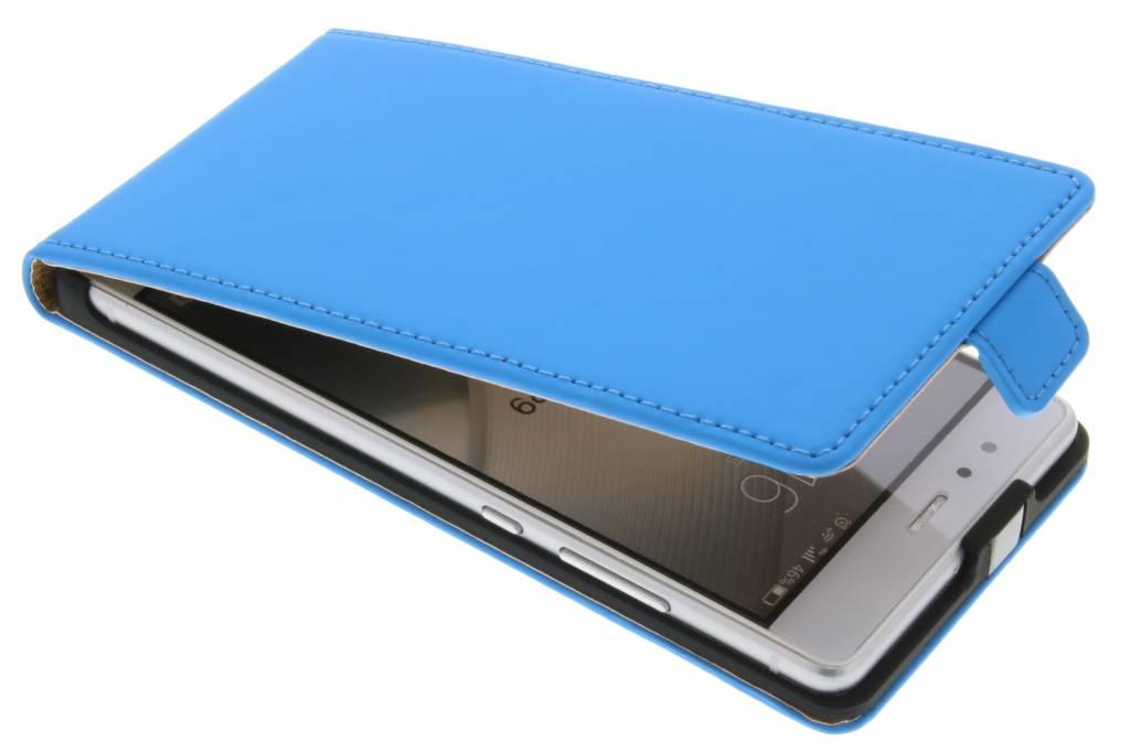 Selencia Luxe Flipcase voor de Huawei P9 - Blauw