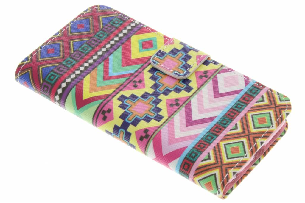 Aztec design TPU booktype hoes voor de iPod Touch 5g / 6