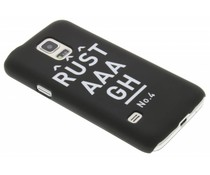 Rustaaagh No 4 hardcase hoesje Galaxy S5 Mini