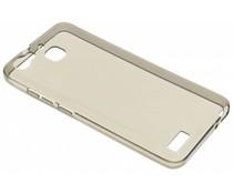 Grijs transparant gel case Huawei GR3 / P8 Lite Smart