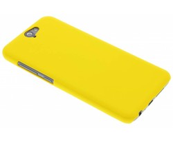 Geel effen hardcase hoesje HTC One A9