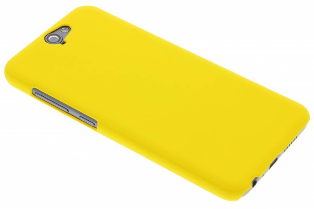 Geel effen hardcase hoesje voor de HTC One A9