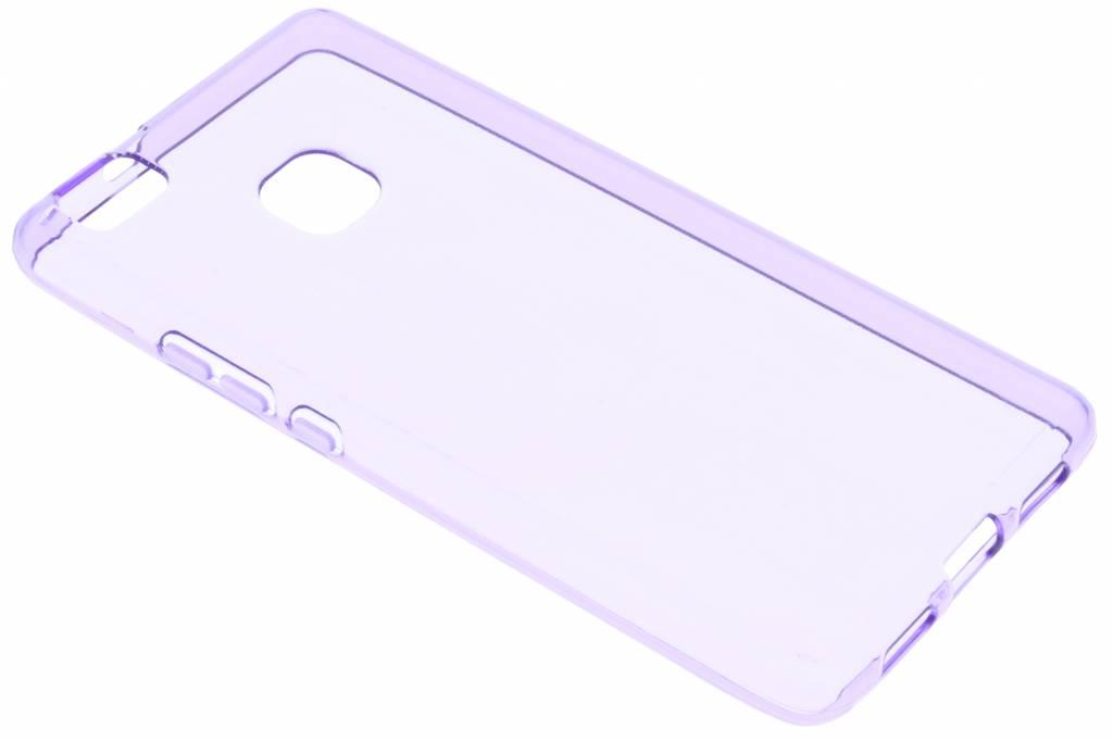 Paarse transparante gel case voor de Huawei P9 Lite