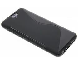 Zwart S-line TPU hoesje HTC One A9