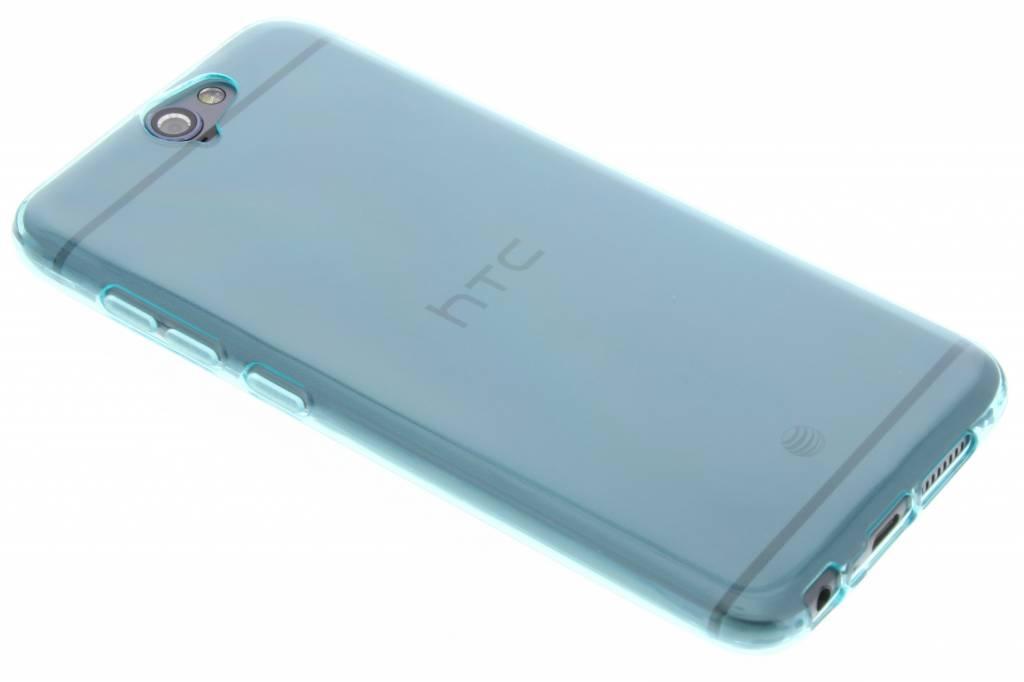 Turquoise transparante gel case voor de HTC One A9