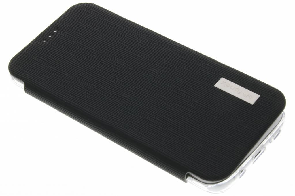 Fonex Crystal Slim Book voor de Samsung Galaxy S7 Edge - Zwart
