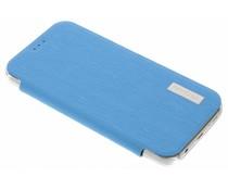 Fonex Crystal Slim Book Samsung Galaxy S7 - Lichtblauw