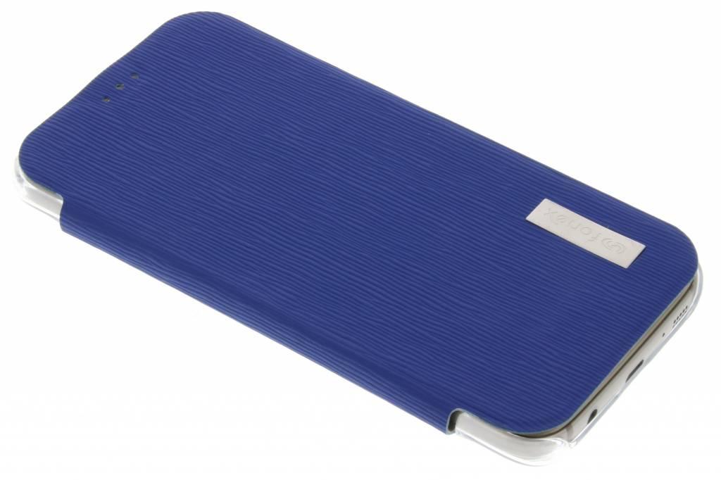 Fonex Crystal Slim Book voor de Samsung Galaxy S7 - Donkerblauw