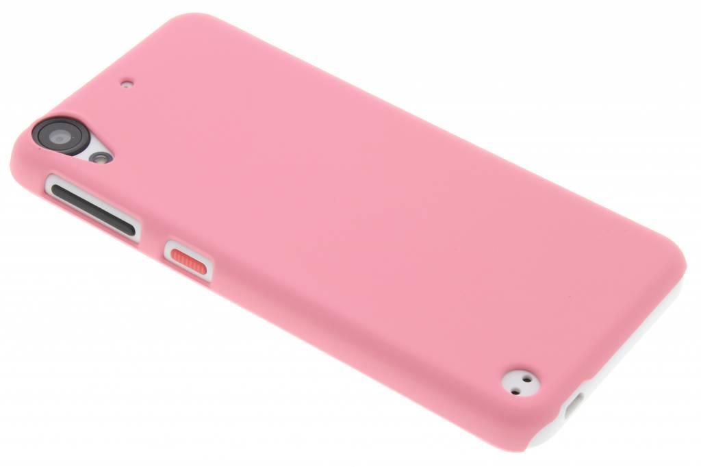 roze effen hardcase hoesje voor de HTC Desire 530