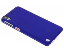 Blauw effen hardcase hoesje HTC Desire 530