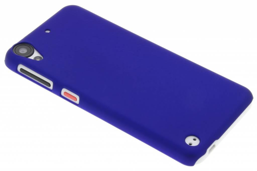 Blauw effen hardcase hoesje voor de HTC Desire 530