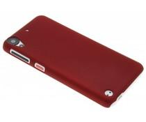Rood effen hardcase hoesje HTC Desire 530