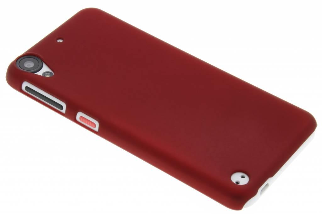 Rood effen hardcase hoesje voor de HTC Desire 530