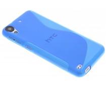 Blauw S-line TPU hoesje HTC Desire 530