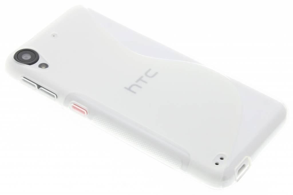 Transparant S-line TPU hoesje voor de HTC Desire 530