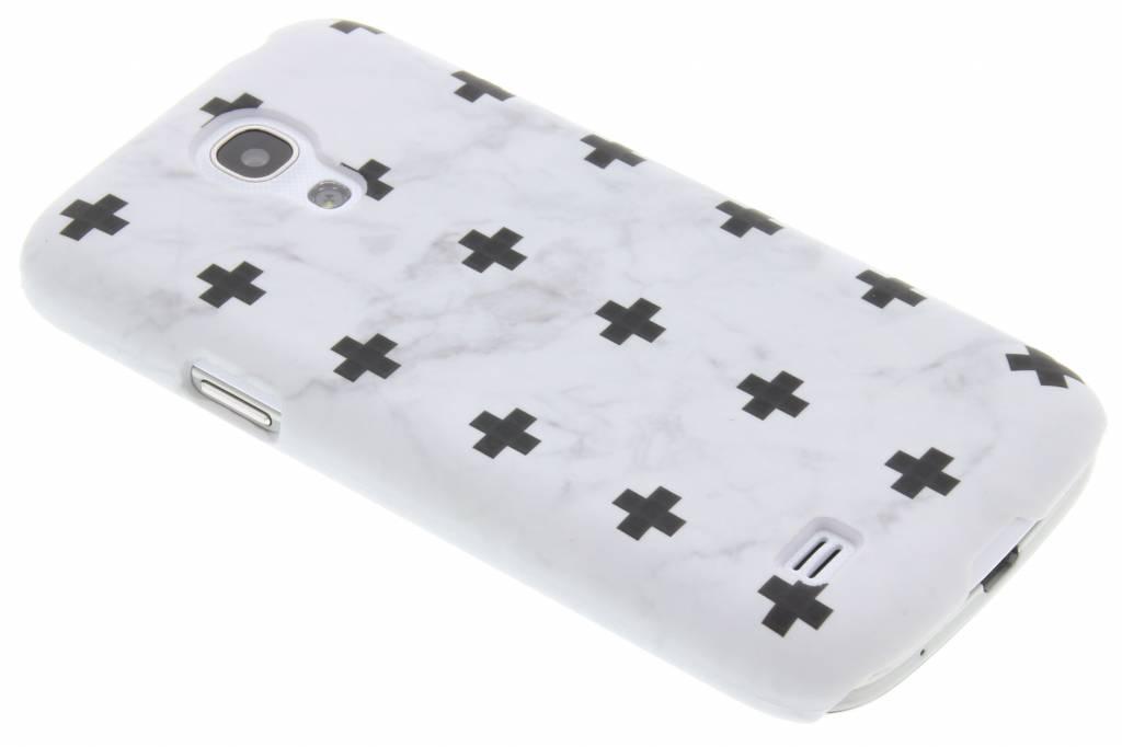 Marbre Blanc Ainsi Que La Conception De La Couverture Étui Rigide Pour La Mini-samsung Galaxy S 1Y6mC