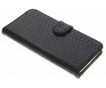 Zwart slangen booktype hoes LG G5 (SE)