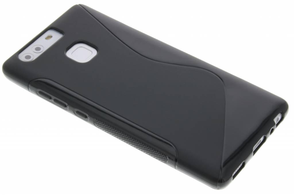 Zwart S-line TPU hoesje voor de Huawei P9