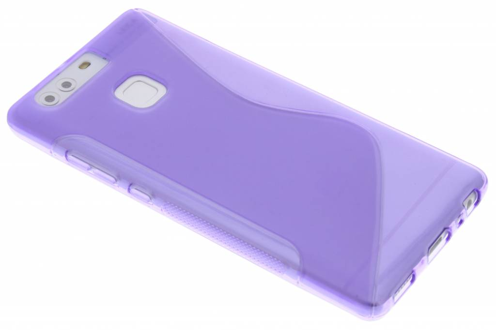 Paars S-line TPU hoesje voor de Huawei P9