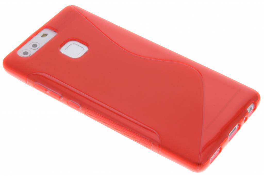 Rood S-line TPU hoesje voor de Huawei P9