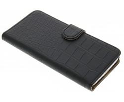 Zwart krokodil booktype hoes LG G5 (SE)