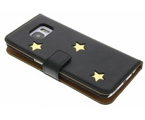 Fab. Gold Reversed Star Booktype Galaxy S7 Edge