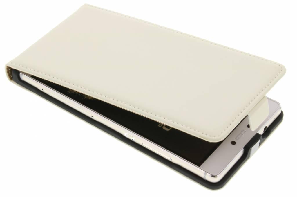 Mobiparts premium flipcase voor de Huawei P8 - White
