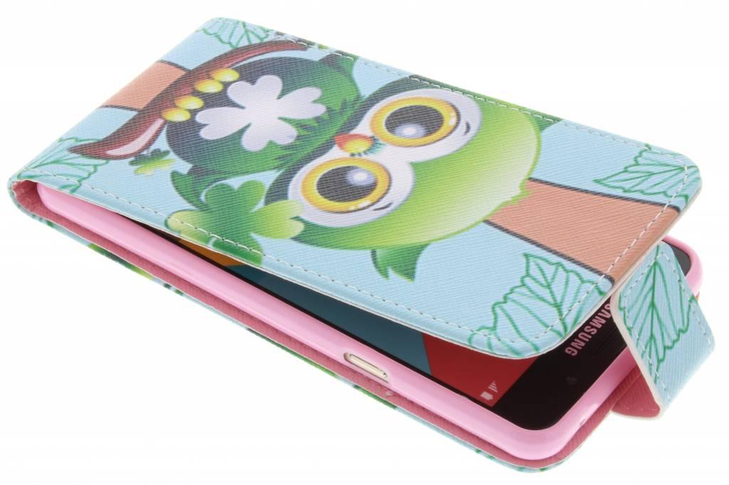 Uil design TPU flipcase voor de Samsung Galaxy A5 (2016)