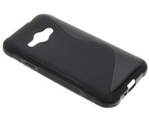Zwart S-line TPU hoesje Samsung Galaxy J1 Ace