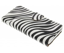 Zebra booktype hoes HTC Desire 530