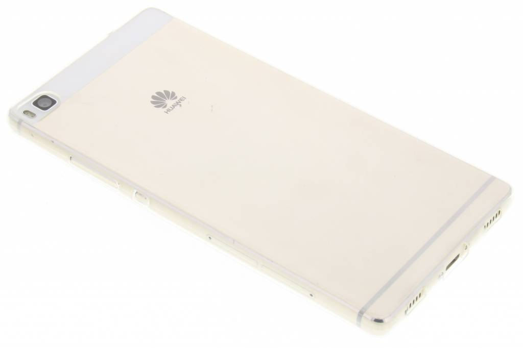 Transparant ultra thin transparant TPU hoesje voor de Huawei P8
